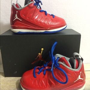 Little Boys Nike Air Jordan TD CP 3 Sneakers